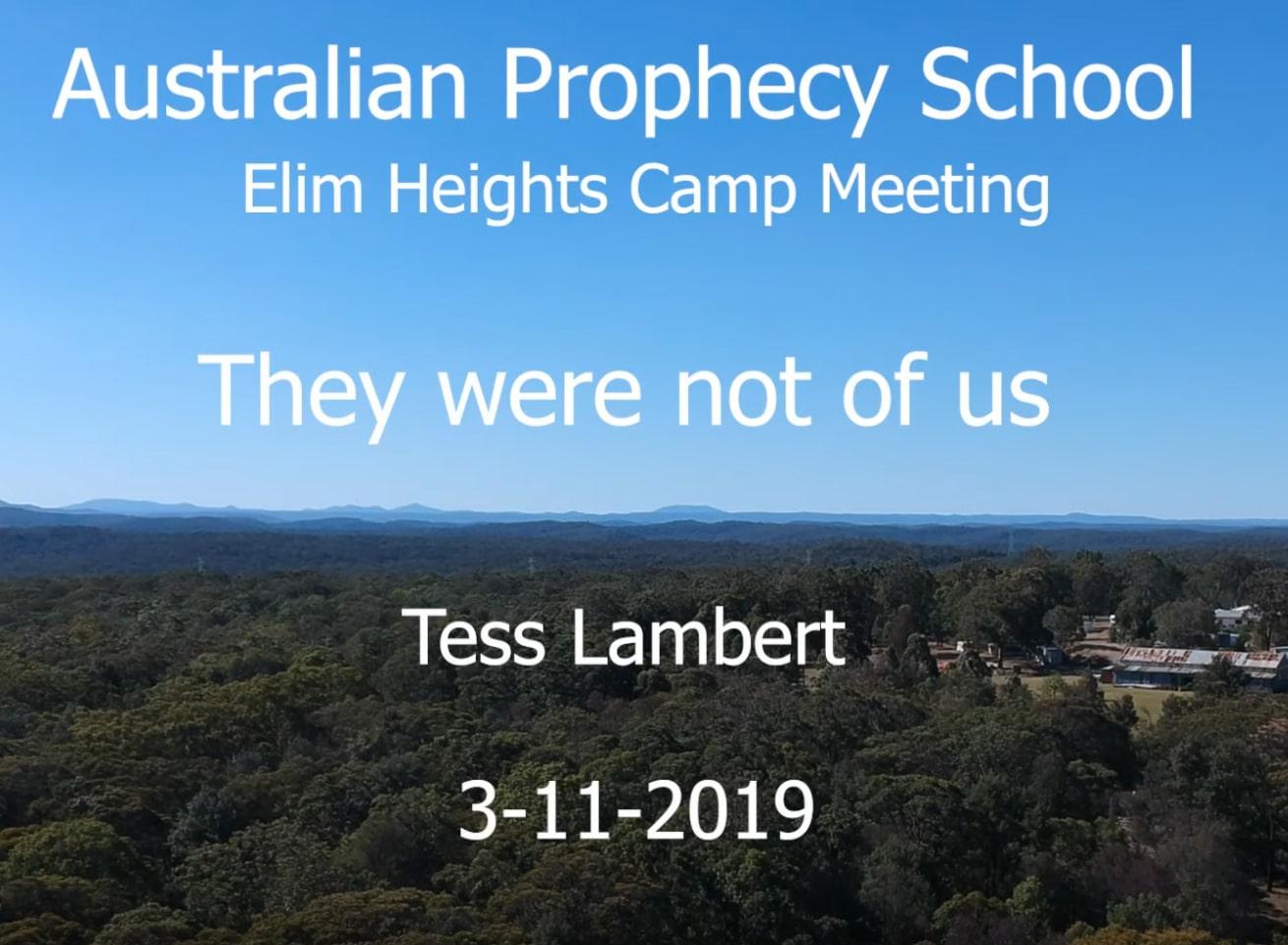 Australian Camp Meeting 2019